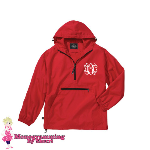Charles River Youth Pack N Go Pullover (Red)