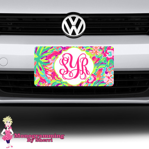 Lilly Inspired License Plate #1
