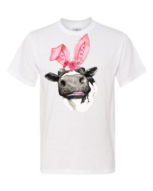 THE PERFECT SHIRT FOR A FUN EASTER! This is a digitally imprinted and is printed on a white, silver, or heather gray shirt unisex tee sleeve shirt. These shirts are not fitted and run true to size.!