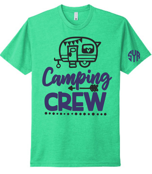 Next Level soft as butter tee are the best in town!  All of Friends our camping and need a shirt for their crew! :) :)  Our beautiful screen printed tee tells your story!! Our tees are unisex and are true to size.