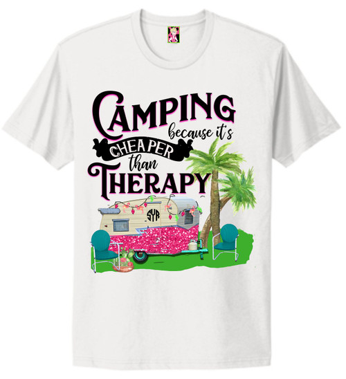 lET'S gO cAMPING!  Soft as butter tees that fit true to size and in 3 colors! This is a digitally imprinted and is printed on a white, silver, or heather gray shirt .