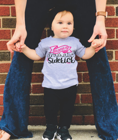 HAVING FUN WITH OUR INFANT & TODDLER TEES!