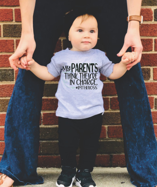 OUR FUN INFANT AND TODDLER TEES ARE SOFT, TRUE TO SIZE, A SCREEN PRINTED OR DIGITALLY IMPRINTED TO PERFECTION!
