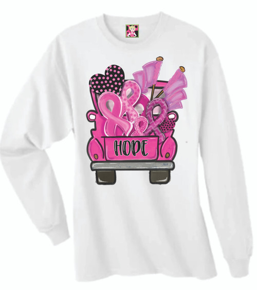 SHOW YOUR SUPPORT!  This shirt is soft as butter and is perfect to show off God's blessings and support Breast Cancer victims!  These are unisex shirts and are true to size.    10% of all proceeds of our Breast Cancer Shirts goes to the American Cancer Society !