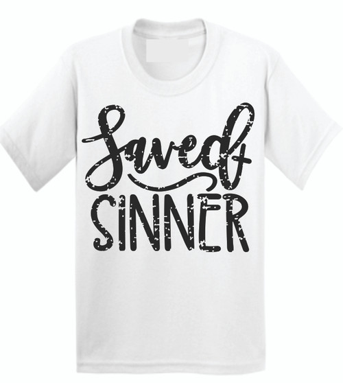 SAVED!! Be still and Know! Be proud to show off your faith with a stylish flair!  Soft as butter tees that you will want to wear everyday! This is a digitally imprinted and is printed on a white, silver, or heather gray shirt unisex tee sleeve shirt. These shirts are not fitted and run true to size.