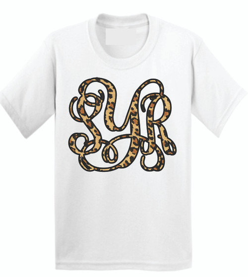 SHOW OFF YOUR STYLE AND MONOGRAM!  Soft as butter tees that you will want to wear everyday! This is a digitally imprinted and is printed on a white, silver, or heather gray shirt unisex tee sleeve shirt. These shirts are not fitted and run true to size.