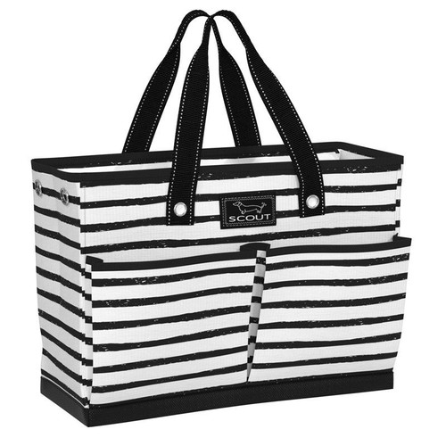 This bag is well-suited for multiple uses with four exterior pockets, a roomy interior, and a max-capacity breakaway zipper. Not your usual fabric, this unique material is durable, lightweight, and keeps things dry for whatever your day throws at you.