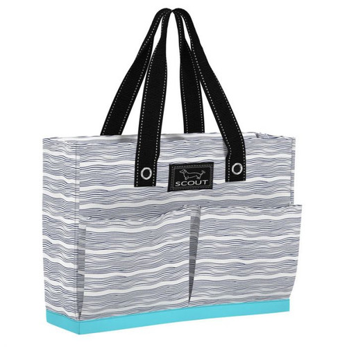 With four exterior pockets and a max-capacity breakaway zipper, this tote is well-suited for multiple uses and the lightweight fabric won?t weight you down. This structured everyday bag has a slim profile that carries close to the body while fitting files, a laptop, and anything else you need.