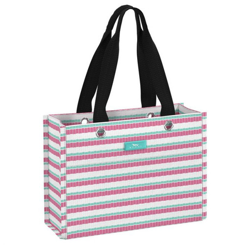 The gift that keeps on giving: This reusable bag can be the gift or wrap the gift. Buying multiples is encouraged and the fold-flat design means easy storage until gifting time. Wrapping has never been so simple and stylish.
