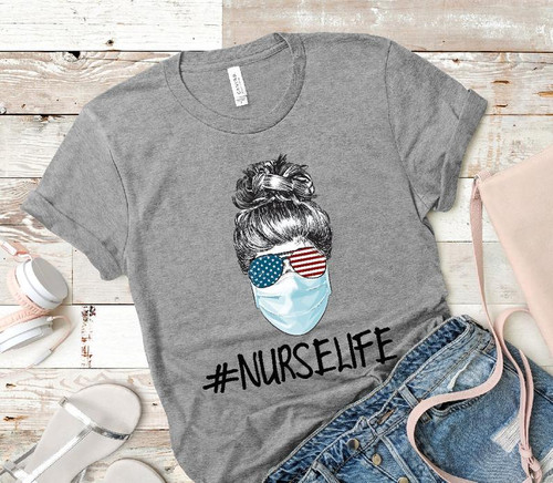 SHOW OFF YOUR STYLE IN QUARANTINE!  Softest shirts ever and perfect for the binge watching your going to do! SHOW A NURSE SOME LOVE!