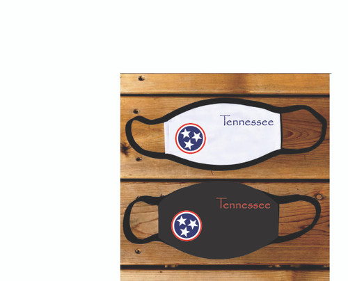 And here it is Tennessee, the MBS face mask.    Show off your Tenneessee Pride and keep the Covid-19 away while you do it!  We can also customize your face mask, just give us a call with an idea and we can make it happen!  They are 2-ply. The first layer, next to your face, is soft cotton. The second layer, facing outward, is polyester.   Right now we offer this one adult size, however we hope to have our kids size next week!  It is machine washable. And for Goodness sake.... Wash your Hands:)