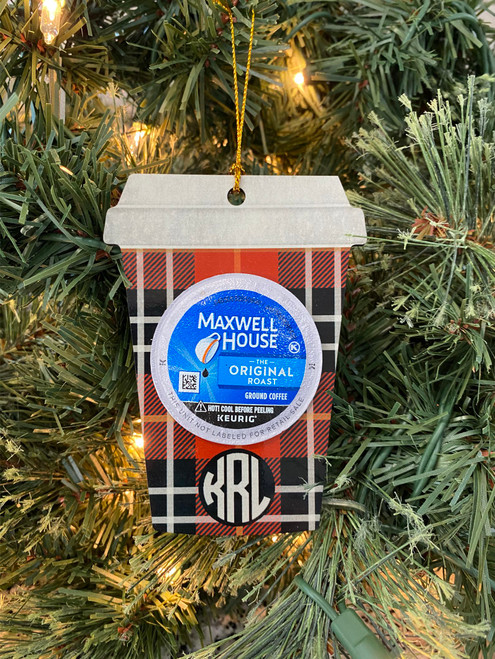 The perfect Christmas gift for all your friends!  LIMITED STOCK!  This ornament comes with a gift of coffee, tea, or hot chocolate!  Does not include pod.