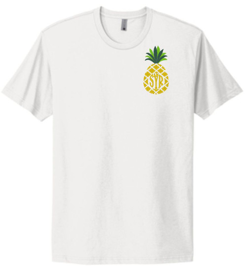 The Cutest pineapple tee for summer sunshine & personalized style