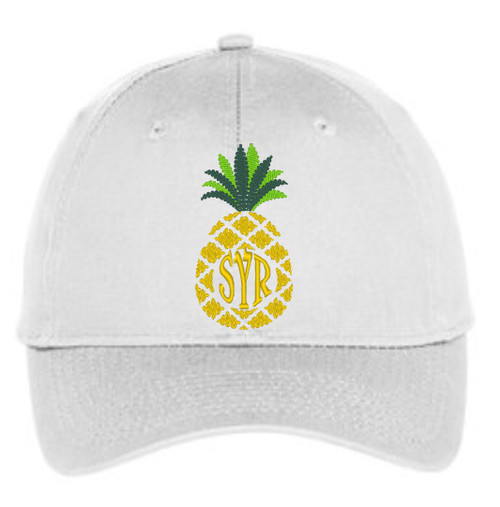 The Cutest pineapple hat for summer sunshine & personalized style