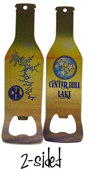Do you know that Craft beers, the newest trend in beer drinking, has to have an opener?  What better kind than a Center Hill Lake one?
