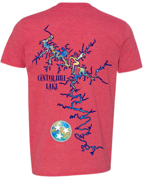 IF YOU LOVE THE LAKE AS MUCH AS WE DO YOU ARE GOING TO WANT THIS SHIRT!  SOFT AS BUTTER AND LIGHT WEIGHT SO IT IS PERFECT FOR SUMMER! CHOOSE YOUR LAKE & COLOR!  THESE SHIRTS ARE DIGITALLY IMPRINTED AND SHIP QUICK!  CHECK OUT ALL OUR ITEMS WITH YOUR FAVORITE LAKE OR RIVER!