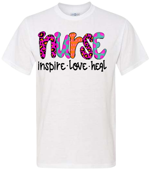 CELEBRATE YOUR NURSE!  SHE WILL LOVE THIS EXTRA SOFT SHIRT WITH HIS TITLE!  OUR SHIRTS ARE DIGITALLY IMPRINTED AND ARE NOT HEAT PRESS VINYL.  UNISEX SHIRTS THAT ARE TRUE TO SIZE!
