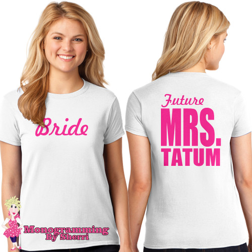 Future Mrs. Bride T-Shirt