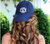 ROYAL HAT , MONOGRAMMED WITH THREAD