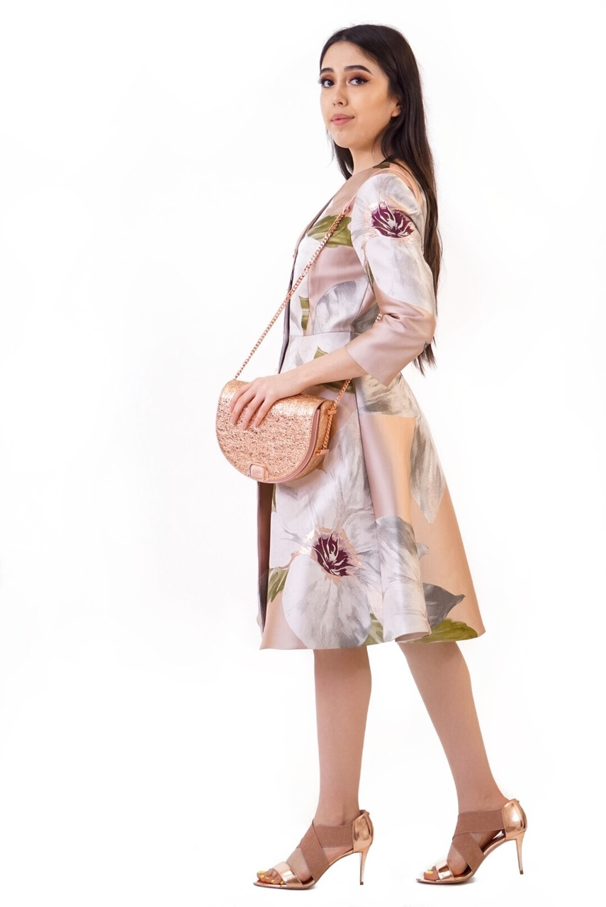 78e905e46 Ted Baker OTTIE Chatsworth Bloom Dress coat - STYLE by Turn Her Style