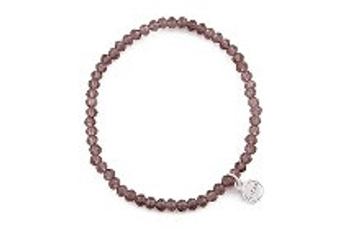 "18749 LIZAS Bracelet ""Knoxville"" dark red small bead"