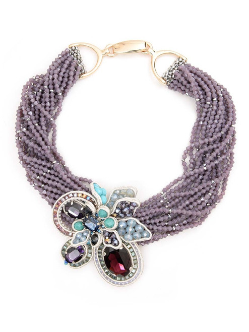 Zenzii 50 Shades of Fabulous Statement Necklace