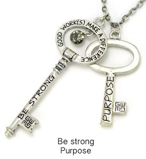 Good Works Purpose Be Strong Blessing Key