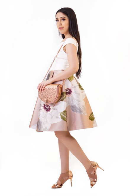 43db21c8f Ted Baker VALTIA Chatsworth Jacquard Dress - STYLE by Turn Her Style