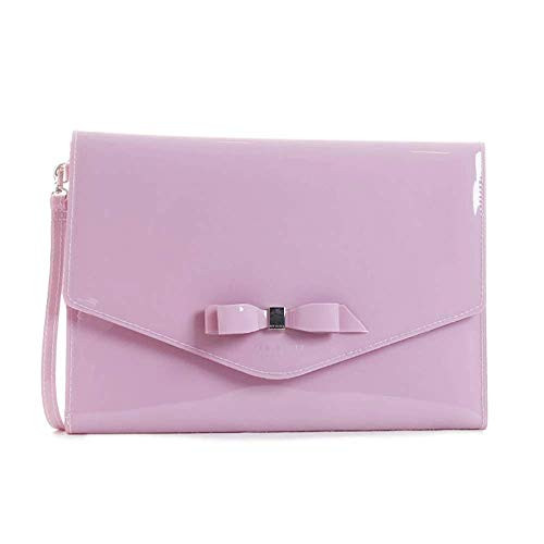 Ted Baker Bow Detail Envelope Pouch Cersei Lt-purple