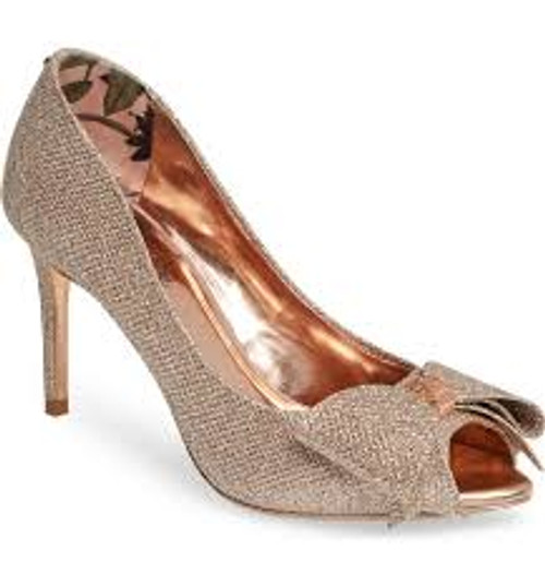 Ted Baker NUALAM Sparkle Open-toe Pump