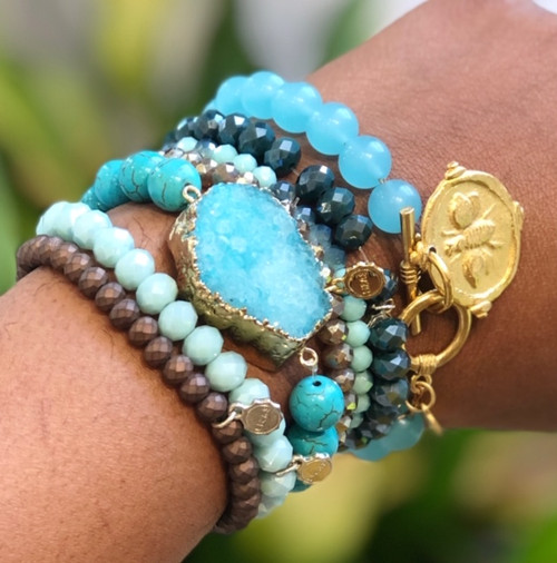 STYLE Stack Braclet - Turquoise