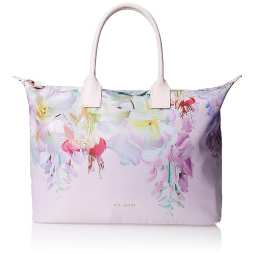66fd898679aa1d Ted Baker FLORITA Hanging Garden Multi Color Floral Travel Tote