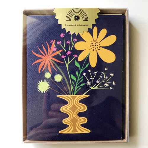 The Rainbow Vision ~ Friendly Flowers Boxed Card Set