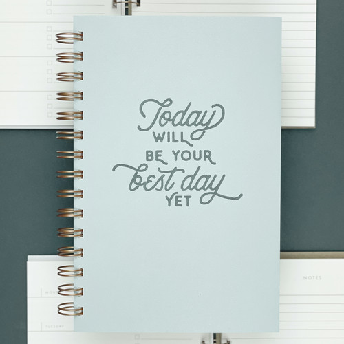 Ruff House Print Shop ~ Best Day Yet Weekly Planner Notebook