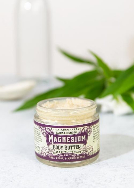 Roots and Leaves Magnesium Body Butter ~ Sleep, Joint Pain, Headaches