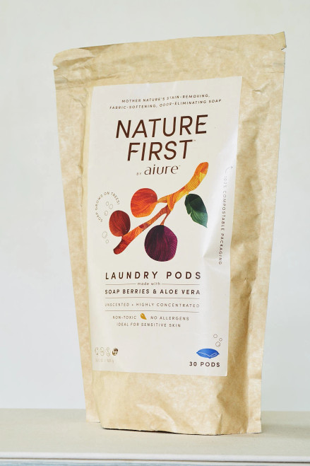 Nature First Laundry Pods ~ made with Soap Berries & Aloe Vera