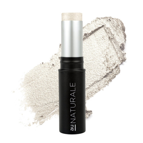 Au Naturale Cosmetics All-Glowing Creme Highlighter stick in celestial, clean beauty