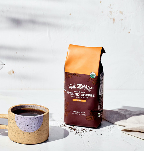 Four Sigmatic Ground Coffee With Lion's Mane