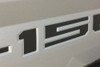Ford F150 Rear Tailgate Stripes Blackout Inlay Letters 2018-2020