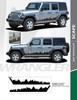 flyer for New JL 2020 Jeep Wrangler Side Stripes SCAPE SIDE KIT 2018-2020