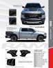 flyer for 2020 Ram 1500 Rebel REB SIDE Graphics Stripes 2019-2021