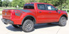 side of red 2020 Ford Ranger Bed Side Stripe Graphics GUARDIAN 2019-2021