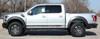 silver side of 2020 Ford F150 Raptor Rocker Stripes VELOCITOR ROCKER 2018-2021