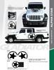 flyer for New! Jeep Gladiator Side STAR Stripes 2020-2021 ALPHA STAR SIDE