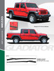 flyer for NEW! Jeep Gladiator Side Stripe Graphics 2020-2021 MEZZO SIDE KIT