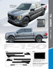 info for 2021 Ford F150 Truck Side Stripes SWAY XL SIDE KIT 2021+