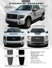 flyer for 15 FORCE HOOD | Hood Stripe for Ford F150 2015-2017 2018 2019