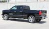 side of black 2018 Chevy Silverado Decals SHADOW 2013-2016 2017 2018
