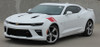 front angle of 2017 Chevy Camaro Fender Stripes HASH MARKS 2016 2017 2018