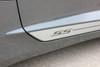 close up of door on 2017 Chevy Camaro Side Door Stripes SKID ROCKER 2016-2018